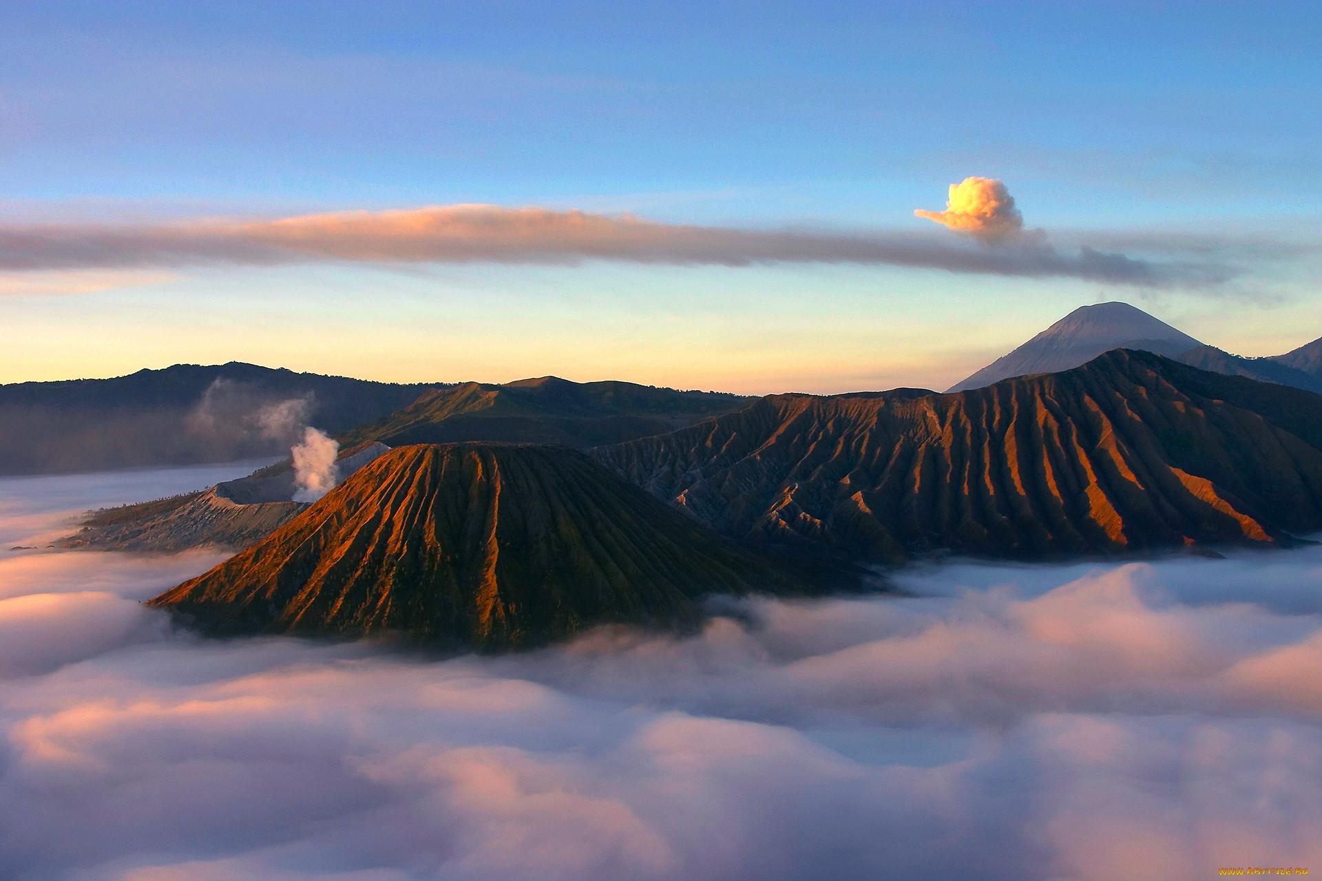 фото горы вулканы дни